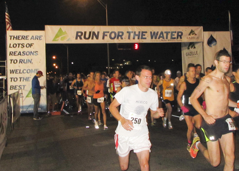run finish line